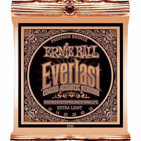 ERNIE BALL strune za akustično kitaro SET 2550 010-050 EVERLAST COATED