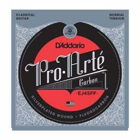 Strune D'Addario Pro-Arte EJ45FF Carbon, Dynacore Basses, Normal Tension