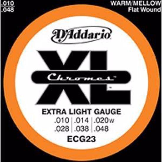 DAddario Strune za električno kitaro ECG23  10-48 bruš.