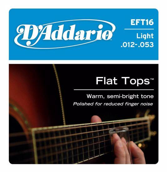 Strune D'Addario ak.kitara EFT16 br.12-53  1/2 bruš.
