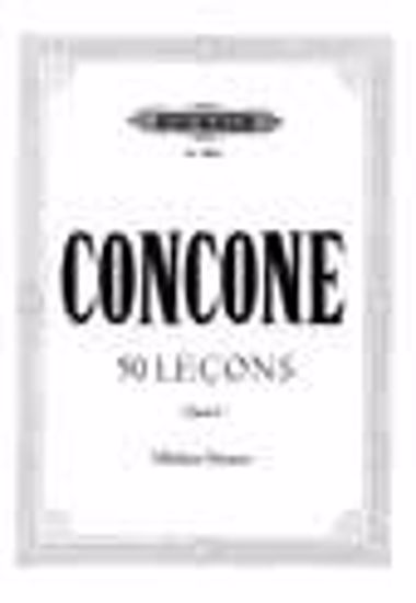 CONCONE:50 LECONS OP.9 MITTLERE STIMME