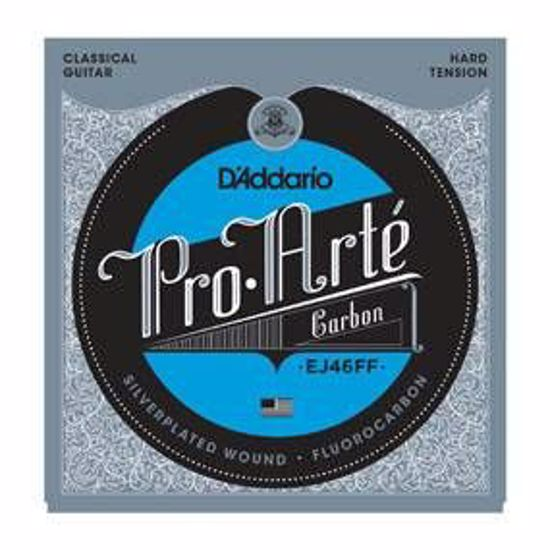 Strune D'Addario Pro-Arte EJ46FF Carbon, Dynacore Basses, Hard Tension