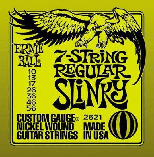 ERNIE BALL strune za električno kitaro SET 2621 7ST. 010-056