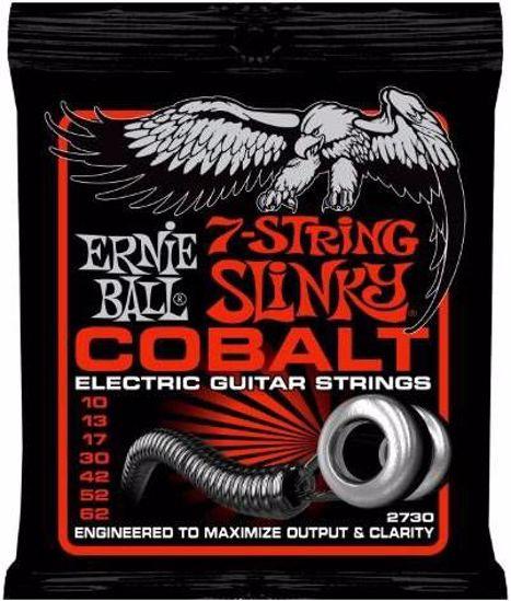 ERNIE BALL strune za električno kitaro SET 2730 7 str. 010-062 COBALT