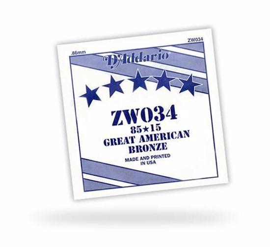 DAddario struna za akustično kitaro ZW036