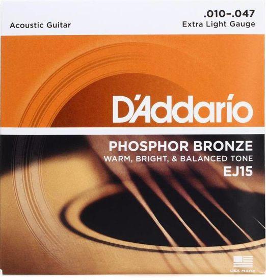 Strune D'Addario ak.kitara EJ15 ph.bronze 10-47