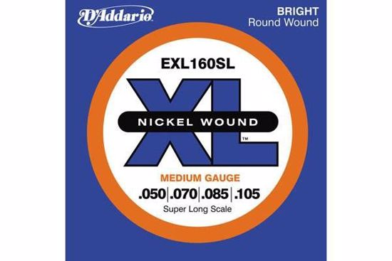 Strune D'Addario kitara bas EXL160SL SUPER LONG 50-105