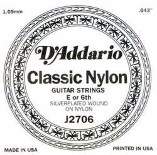 DAddario struna za klasično kitaro 6-E J2706