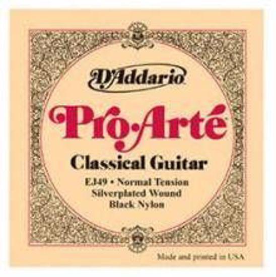 DAddario strune za klasično kitaro Pro-Arte EJ49 Black Trebles Normal