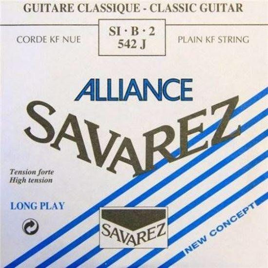 Struna Savarez kitara ALLIANCE BLEU B2 542J
