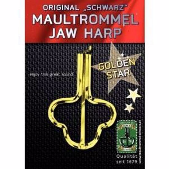DROMLJA JEWS HARP GOLDEN STAR ŠT.15