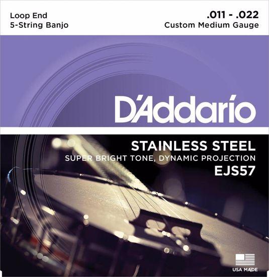 Strune D'Addario za BANJO EJS57 011-022 med