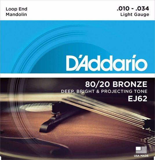 Strune D'Addario mandolina EJ62  10-34