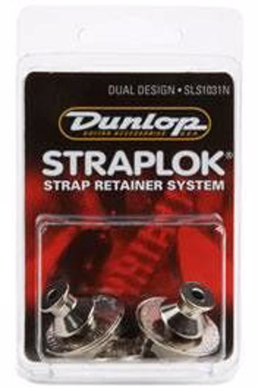 DUNLOP STRAPLOK DUAL NICKEL SLS1031N