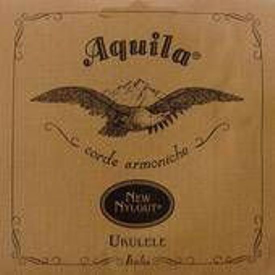 Aquila STRUNE New Nylgut Ukulele Set, GCEA Soprano, high-G