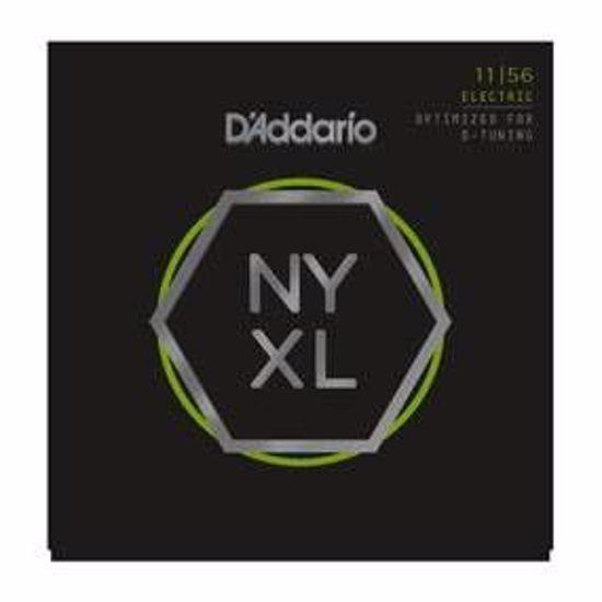 Strune D'Addario el. kitara NYXL1156  011-056