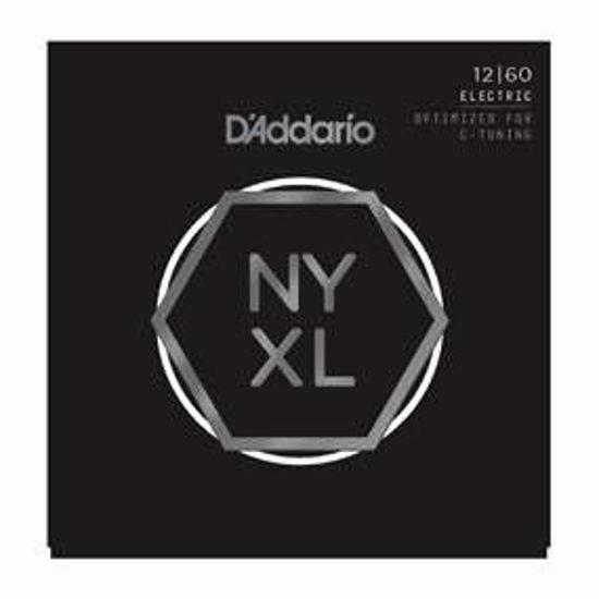 Strune D'Addario el. kitara NYXL1260  012-060
