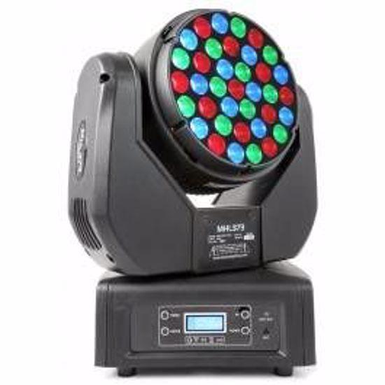 BeamZ MHL373 LED Wash Moving Head 37x 3W RGB 14 Channel DMX