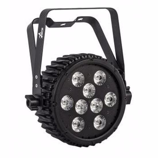 SAGITTER HALFPAR 9X10W LED RGBWA/FC HALFPAR9