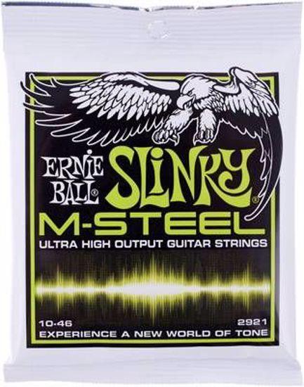 ERNIE BALL strune za električno kitaro SET 2921 EL 010-046 M-STEEL