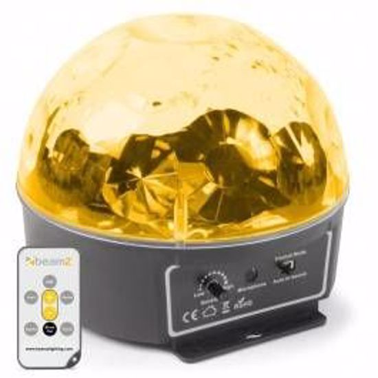 BeamZ Mini Star Ball 6x 3W RGBAWP LEDs IR 153.214