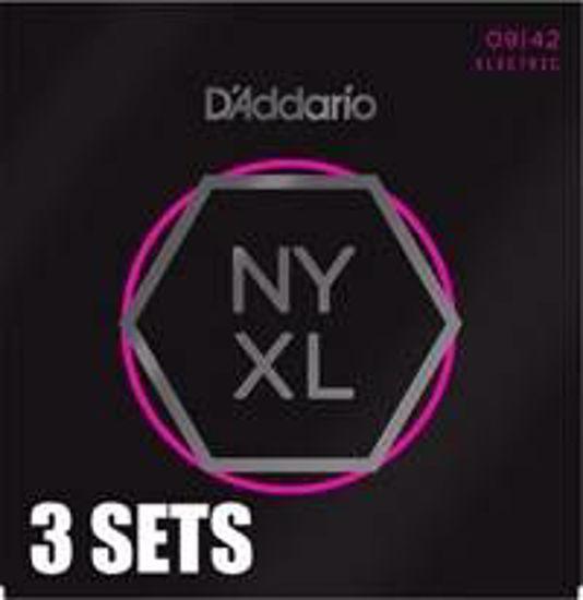DAddario strune za električno kitaro NYXL0942-3PACK  009-042