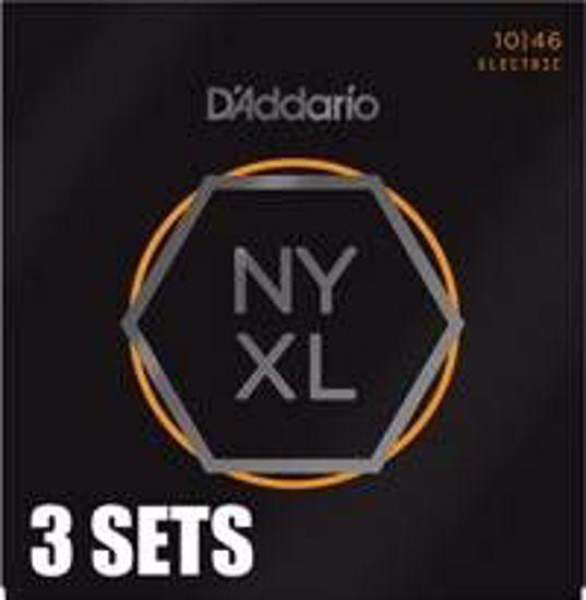 Strune D'Addario el. kitara NYXL1046-3PACK  010-046