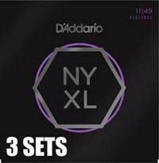 Strune D'Addario el. kitara NYXL1149-3PACK  011-049