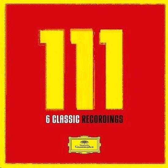111 : 6 CLASSIC RECORDINGS 6LP LIMITED EDITION