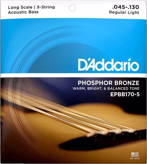 DAddario strune za ac. bas kitaro EPBB170-5  45-130 ph.br.