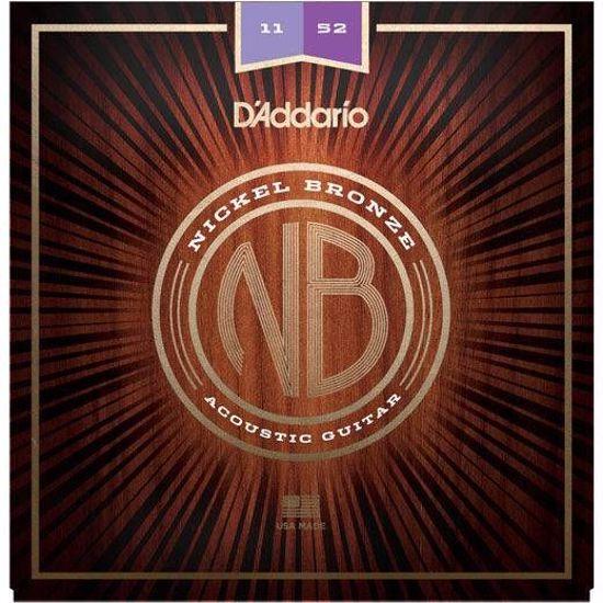 DAddario strune za akustično kitaro NB1152 Nickel Bronze 11-52