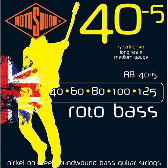 ROTOSOUND SET ZA BAS RB 405 5 STR. 40-125