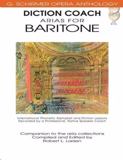 LARSEN:DICTION COACH ARIAS FOR BARITONE +2CD