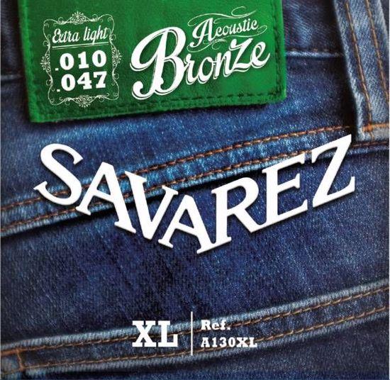 Strune Savarez ak.kitara A130XL Bronze 10-47