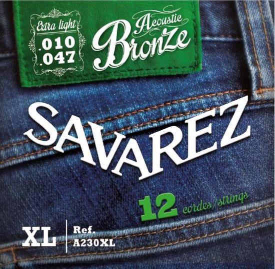 Strune Savarez ak.kitara12 strun A230XL Bronze 10-47