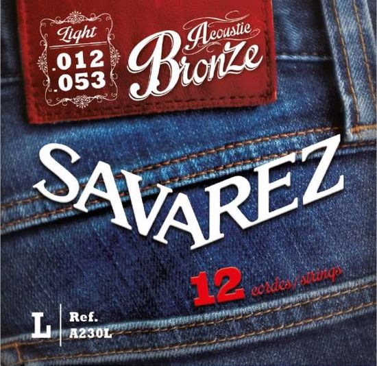 Strune Savarez ak.kitara12 strun A230L Bronze 12-53