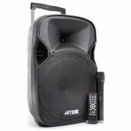 MAX PRENOSNO BATER.OZVOČENJE P12BT BT/MP3/USB/SD/VHF/IRC