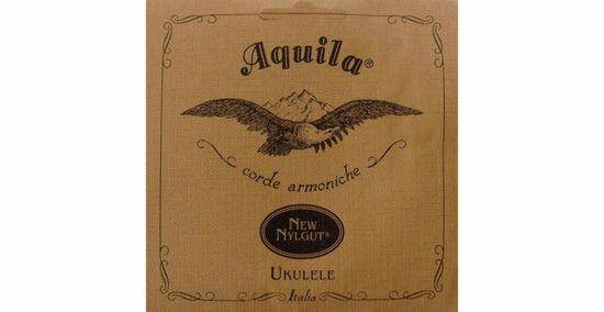 Aquila STRUNE New Nylgut Ukulele Set, GCEA Soprano, low-G