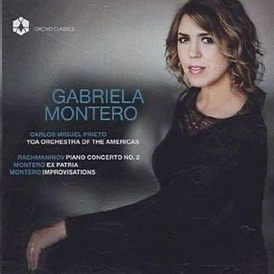 RACHMANINOV,MONTERO:CONCERTO FOR PIANO,EX PARTRIA/GABRIELA MONTERO