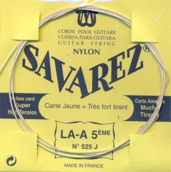 Struna Savarez kitara 5A 525J super high tension