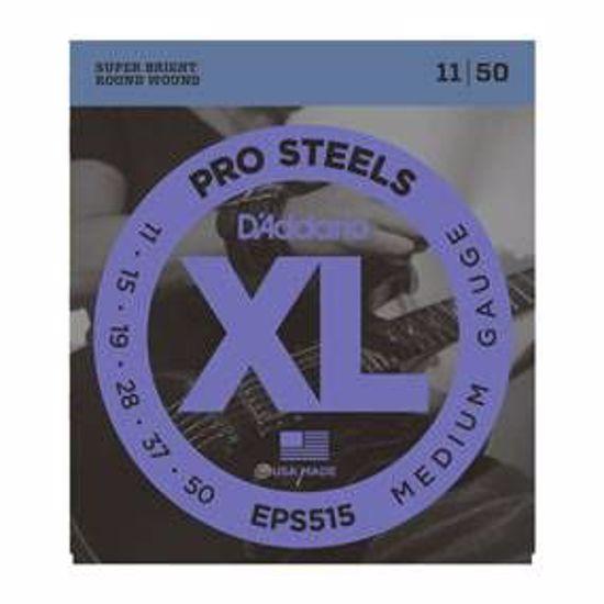 Strune D'addario e. kitara EPS515 ProSteels, Medium, 11-50