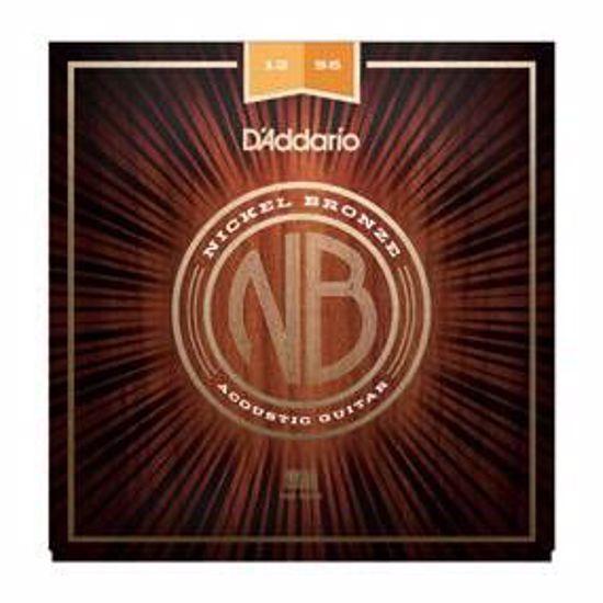 DAddario strune za akustično kitaro NB1256 Nickel Bronze 12-56