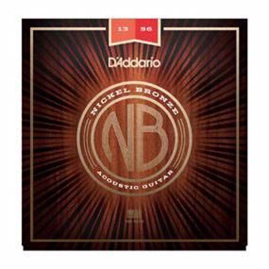 Strune D'Addario ak. kitara NB1356 Nickel Bronze 13-56