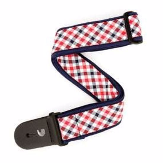 PAS ZA KITARO PLANET WAVES Gingham Woven Red and Navy