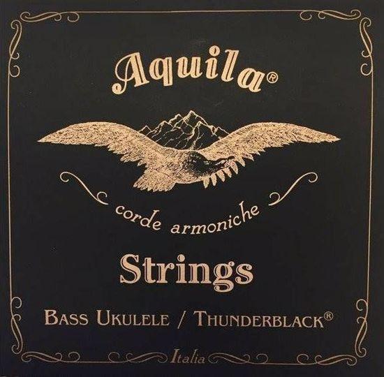 AQUILA UBASS 4 STRING SET STRUN THUNDERBLACK TS140U