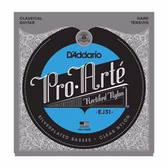 DAddario strune za klasično kitaro Pro Arte EJ31 Rectified Trebles, Hard Tension