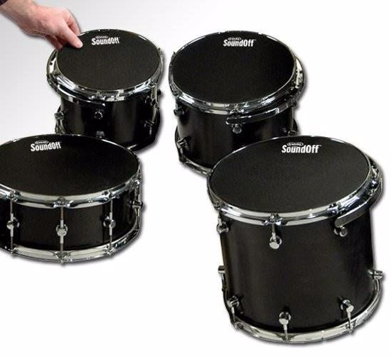 Evans dušolci za bobne Fusion Sound Off Pack