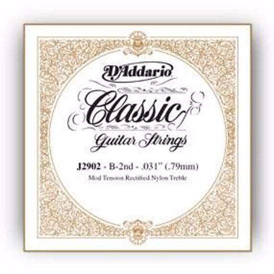 Struna D'Addario kitara Rectified Nylon 028/J30 1st Normal Tension J3001