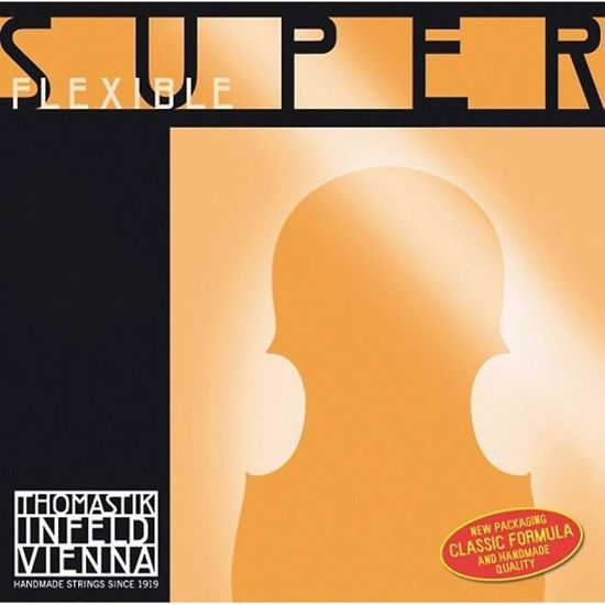 SUPERFLEXIBLE STRUNA ZA VIOLINO D 1/4 MEDIUM 532