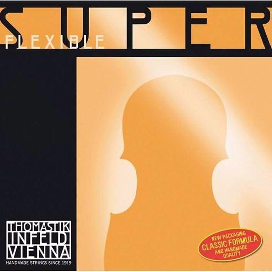SUPERFLEXIBLE STRUNA ZA VIOLINO G 4/4 SILVER MEDIUM 14